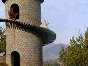 goats in tower